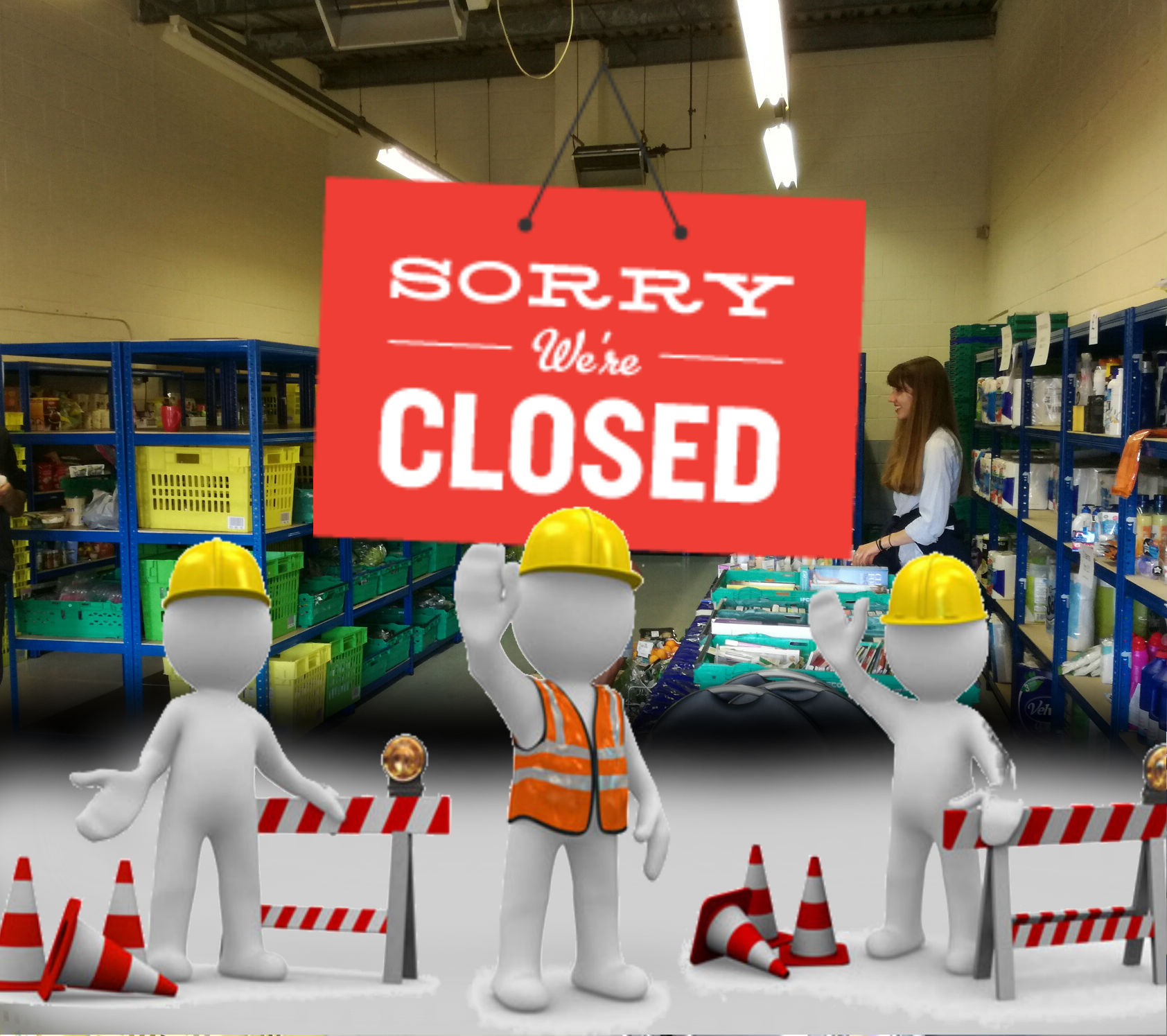 Sharehouse Closed for Maintenance