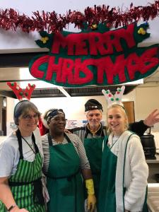 Merry Christmas 2019 - Picture of the volunteers at Ladywood